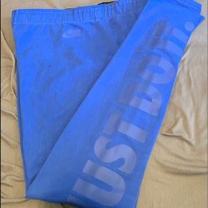 Nike Electric Blue Running Pants